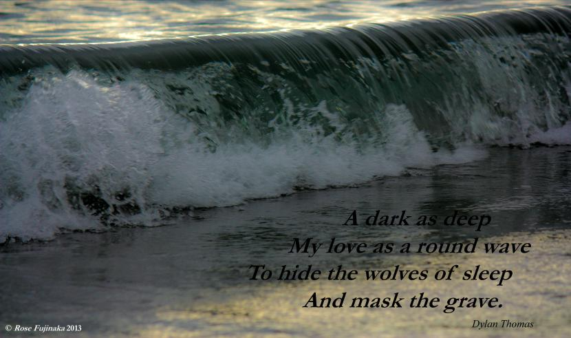 Dylan Thomas Quote Poem