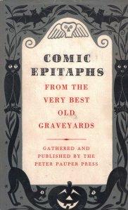 comic epitaphs peter pauper press