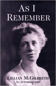 as i remember lillian gilbreth