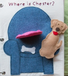 busy book page 3b felt dog