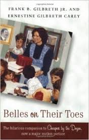 belles on their toes frank gilbreth jr ernestine gilbreth carey
