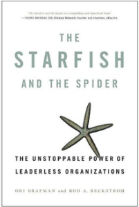starfish and spider ori brafman rod a beckstrom