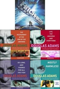 Hitchhiker's Guide to the Galaxy Audiobooks douglas adams stephen fry martin freeman