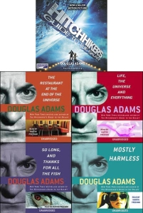 Hitchhiker's Guide to the Galaxy Audiobooks douglas adams stephen fry martin freeman