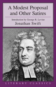 a modest proposal and other satires swift prometheus books 1995