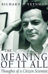 meaning of it all feynman helix books 1998