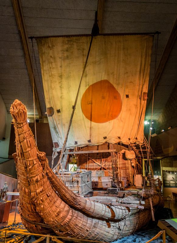 Ra II Kon-Tiki Museum Thor Heyerdahl 2016