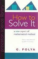 how to solve it polya princeton science library 2004