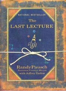last lecture randy pausch hyperion 2008