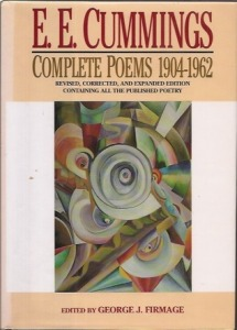complete poems 1904-1962 e e cummings liveright publishing corp 1994